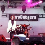 with Zero One Zero, Guernsey Festival.
