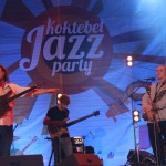 with the Alex Hutching's band, Koktebel Jazz Festival